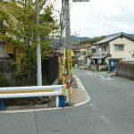 JR桂川駅から山陰道を通って穴太寺まで歩く。